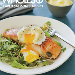 Seared Salmon Benedict (Whole30 Approved)