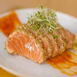 seared salmon sashimi recipe