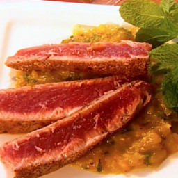 Seared Tuna with Mango Salsa