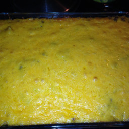 Seashell Macaroni & Cheese Casserole