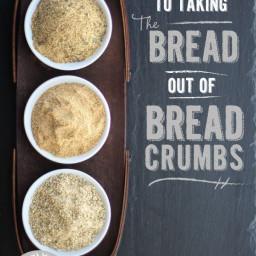 Seasoned Bread Crumbs (Gluten Free and Vegan)