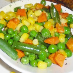 Seasoned Mixed Vegetables