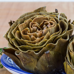 Seasoned Steamed Artichokes