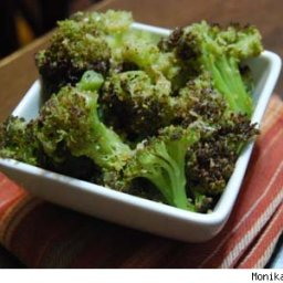 Seasoned Steamed Broccoli
