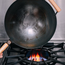 Seasoning and Caring for Your Wok