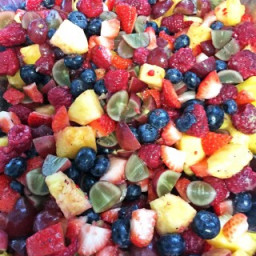 Secret Ingredient Fruit Salad