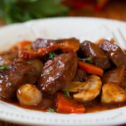 Secrets for Best Beef Stew. Meltingly tender, super comforting!