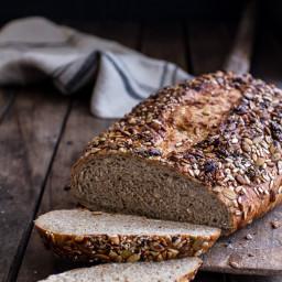 Seeded Whole Grain Breakfast Bread.