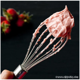 Seedless Strawberry Frosting