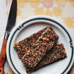 Seedy Cherry-Quinoa Bars