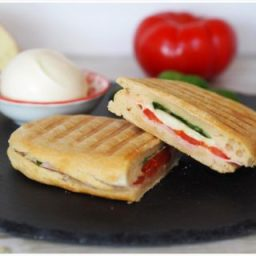Selbstgemachtes Panini-Brot