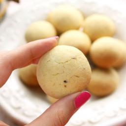 Semolina Cardamom Cookies