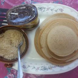 Semolina Pancakes