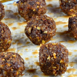 Sephardic Style Haroset Bites