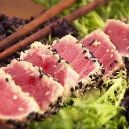 Sesame and Wasabi Seared Tuna