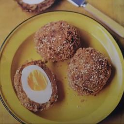 Sesame miso picnic eggs