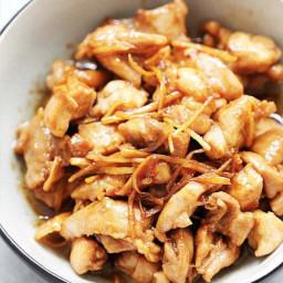 Sesame Oil Chicken