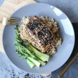 Sesame Seed Encrusted Salmon