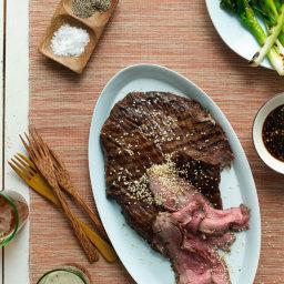 Sesame-Soy Flank Steak