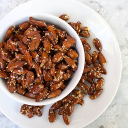 Sesame Tamari Almonds