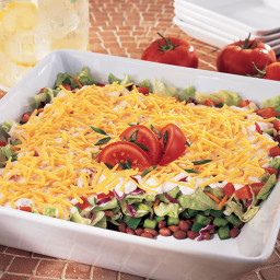 Seven-Layer Southwestern Salad