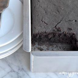 Seven Minute Chocolate Cake