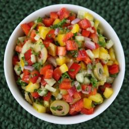 Shahar's Chicken, Rice & Veggie Salad