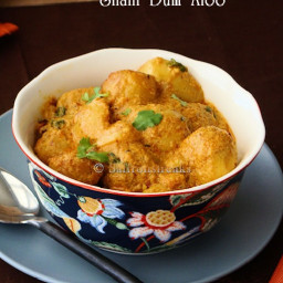 Shahi dum aloo - a winter delight