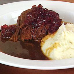 Shaker Cranberry Pot Roast