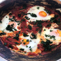 Shakshuka with feta