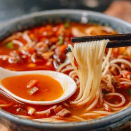 Shanghai Hot Sauce Noodles (上海辣酱面)