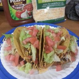 Shaun's Beef Tacos