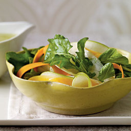 Shaved Fall Vegetable Salad with Cider Vinaigrette