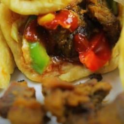 Shawarma Salad Recipe by Le Tasty Kitchen