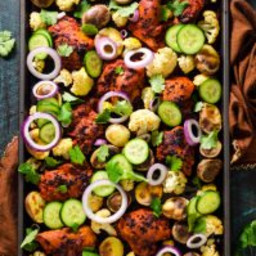 Sheet-Pan Tandoori Chicken and Vegetables