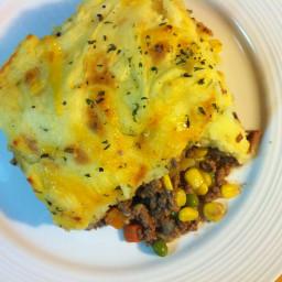 Shepherd's Pie with Cheesy Potatoes