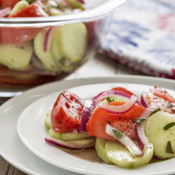 Sherry's Cucumber Salad