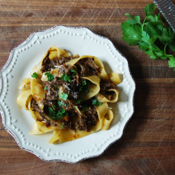 Short Rib Ragu with Papparedelle