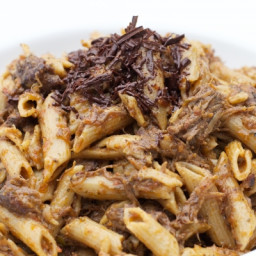 Short Rib Ragu with Penne