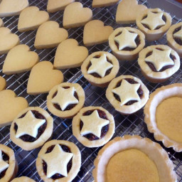 Shortbread ... Done Three Ways (Biscuits / Fruit Mince Tarts / Lemon Curd T