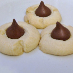 Shortbread Hershey Kiss Cookies Recipe