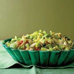 Shredded Brussels Sprouts with Pancetta