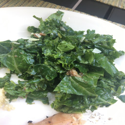 Shredded Kale Salad with Anchovies & Pecorino