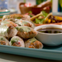 Shredded Pork Summer Rolls