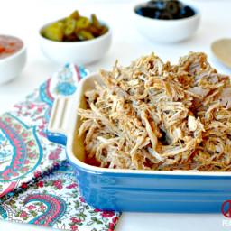 Shredded Taco Pork, Low Carb, Paleo, Gluten Free
