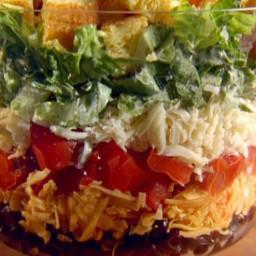 Shredded Tex-Mex Salad with Creamy Lime Dressing