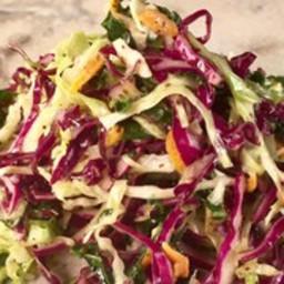 Shredded Veggie Slaw with Celery Seed Vinaigrette
