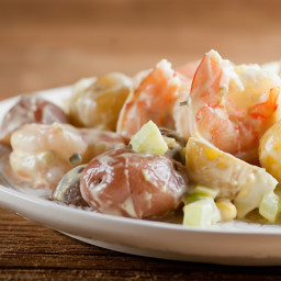 Shrimp and Baby Potato Salad