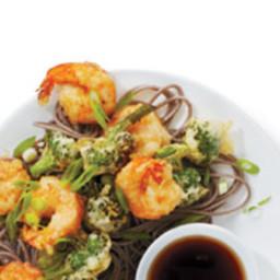 Shrimp and Broccoli Tempura