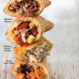 Shrimp and Chicken Sausage Meat Pies